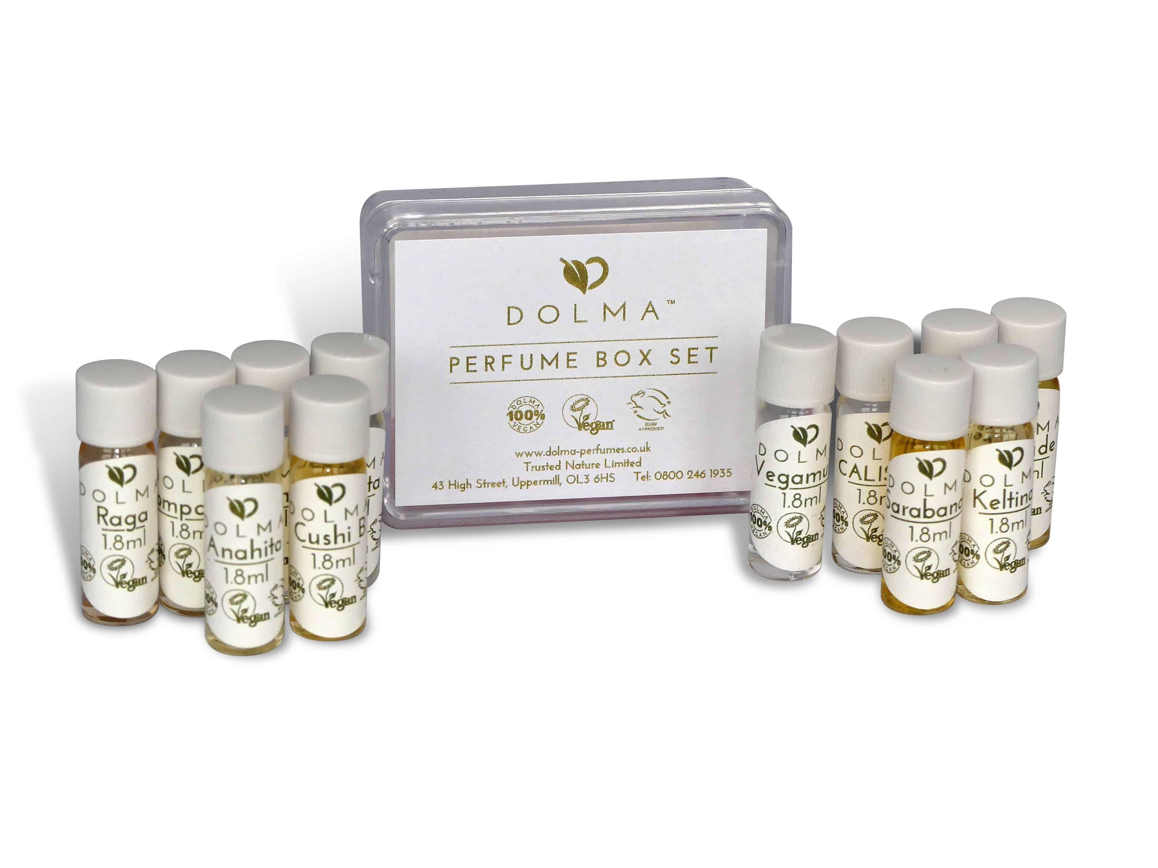 vegan perfume box set