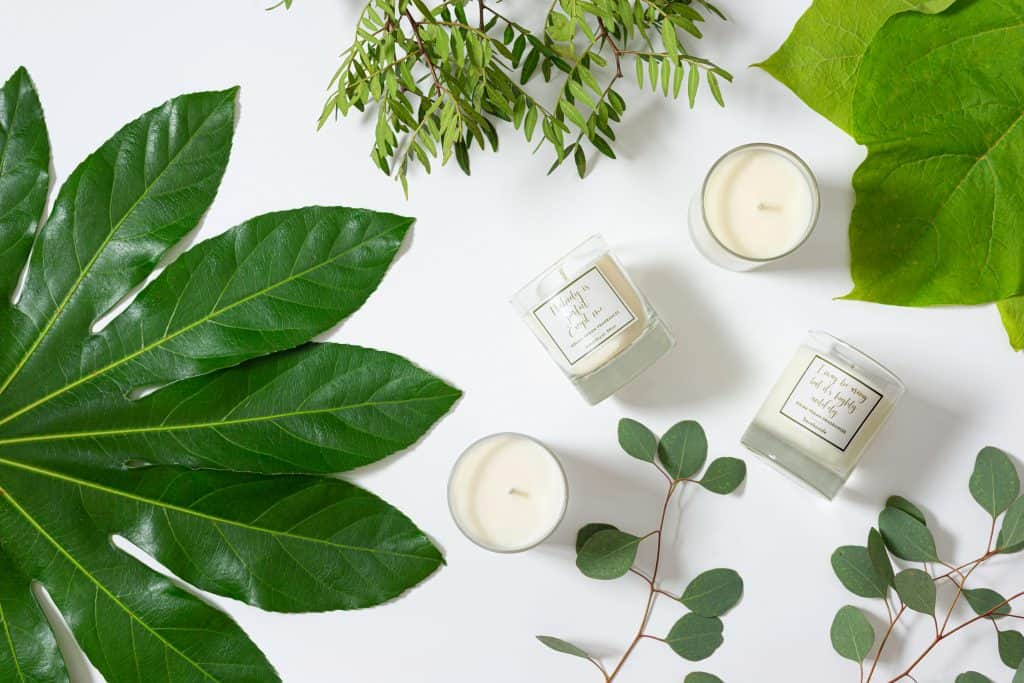 Soy Candles from Dolma Vegan Perfumes and Colognes.