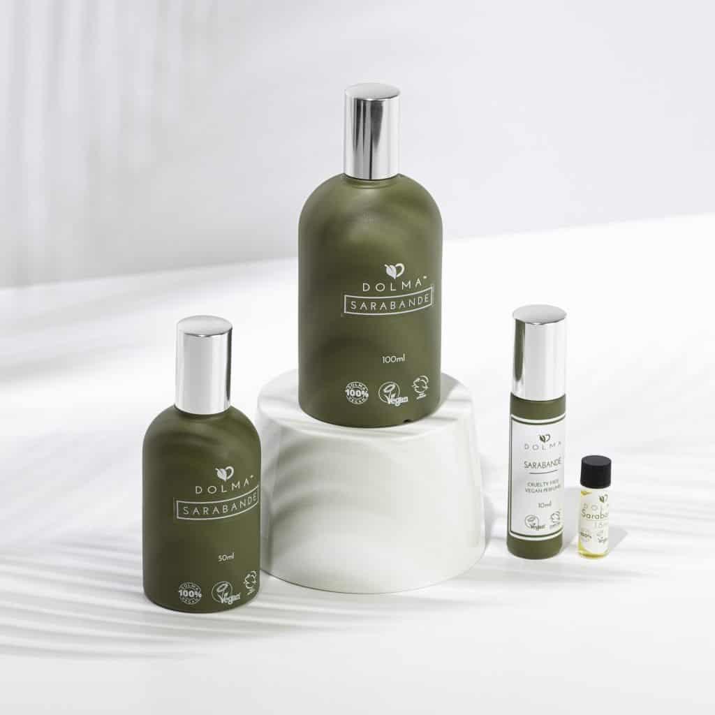 Vegan perfumes from Dolma Perfumes and Colognes.